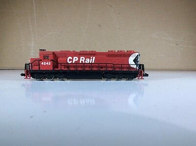 Vintage Atlas Sd45 N Scale Canadian Pacific