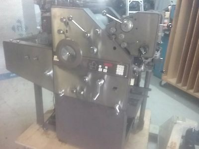 AB Dick 9840 2 color printing press