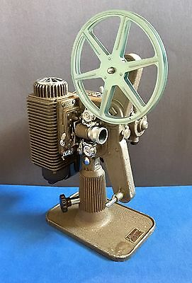 Vintage 1948 Revere Camera Eight Model 85, 8MM Film Projector w/ Case-WORKING