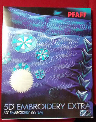 PFAFF 5D Sewing Machine Embroidery Extra Software NEW!