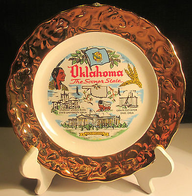 Collectible Plate - Oklahoma The Sooner State