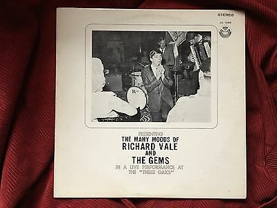 RICHARD VALE & THE GEMS Many Moods Of Private Lounge Rock LP