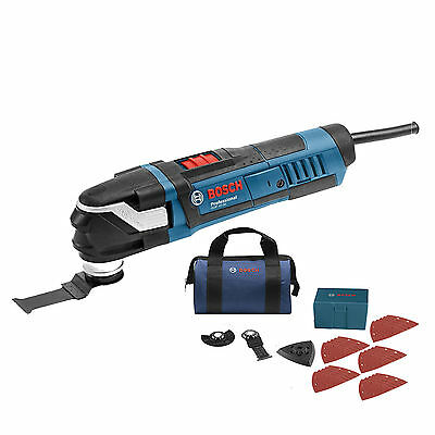 Bosch Tools StarlockPlus Oscillating Multi-Tool Kit GOP40-30B New
