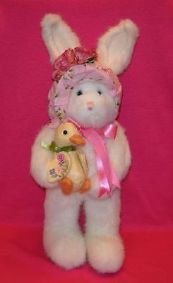 Boyds Bears HATTIE SPRINGFIELD AND LIL' QUACK  Plush Bunny with Duck