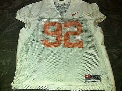 Clemson Tigers authentic player issued practice jersey.