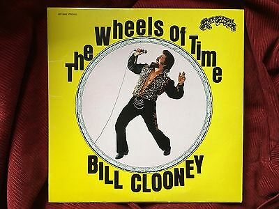 BILL CLOONEY The Wheels Of Time Private Weird Lounge Psych LP