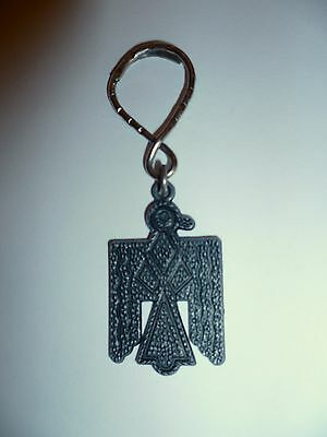 Native American Indian Tribal Thunderbird - vintage key fob and ring