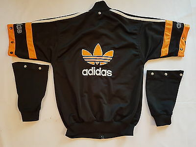 ADIDAS OLDSCHOOL VINTAGE Blouse RARE Jacket TRACKSUIT 80'S 90's  Size. 140