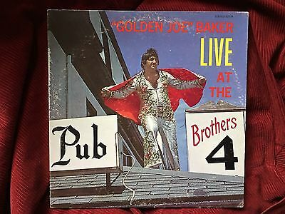 GOLDEN JOE BAKER Live at the Brothers 4 Private ISM Lounge Psych LP