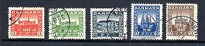 DENMARK STAMPS- Recovery of Northern Schleswig, set, 1920 (#)