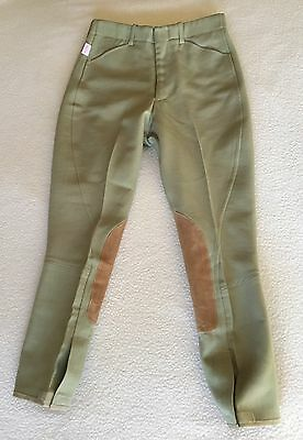 TAILORED SPORTSMAN Boy's ROYAL HUNTER BREECHES Khaki Youth 12 NWT Free Ship