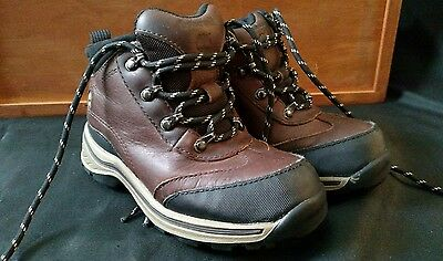 Youth/kids Size 11 Waterproof Timberland Hiking Boots Leather