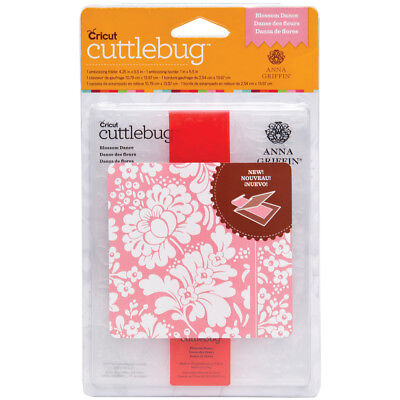 Cuttlebug A2 Embossing Folder/Border Set Blossom Dance By Anna Griffin 2002106