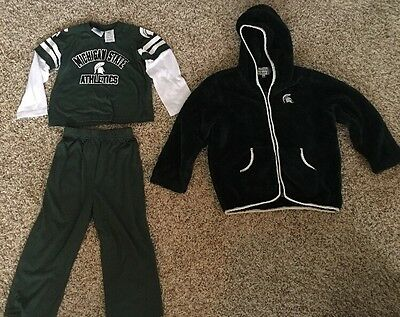 Lots Of 2 Michigan State Spartan Outfits Unisex
