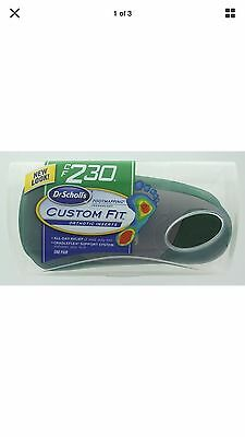 Dr. Scholl's Custom Fit Orthotic Inserts CF230, New in Package - Free Shipping
