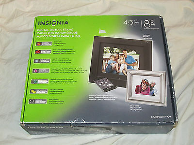 """BRAND NEW Westinghouse 8"""" Digital Picture Photo Frame DPF-0802 8.0 FREE SHIPPING"""