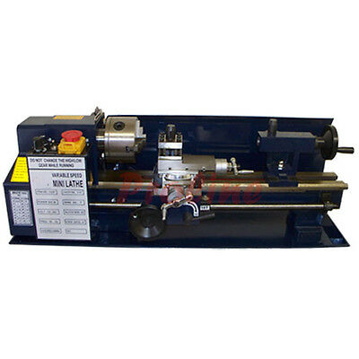 500W Precision 7 x 14 Mini Variable Metal Lathe 2500RPM 110 Volt - FREE SHIPPING