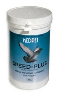 Speed-Plus 200gr by Medpet for Racing pigeons