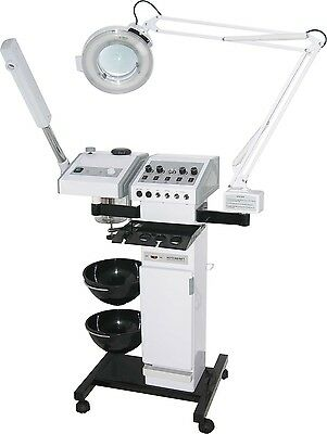 Multi Function Beauty Machine Steamer High Frequency Magi Lamp Facelift + more