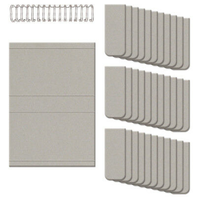 """Cinch Perpetual Calendar Kit 8.75""""X9.25"""" Covers, Pages & Wire 62361"""