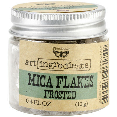 Finnabair Art Ingredients Mica Flakes 1oz Frosted AIMF-96174