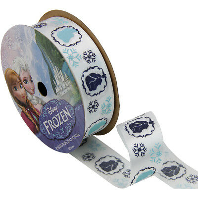 "Frozen Ribbon 7/8""X9' Characters Silhouettes 944927"