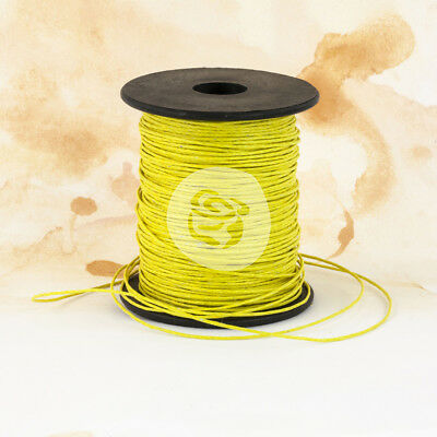 Prima Marketing Wax Cord 25yd Sunshine PWC-57679