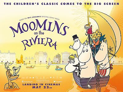 """The moomins 16"""" x 12"""" Reproduction Movie Poster Photograph"""