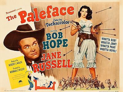 """Paleface 16"""" x 12"""" Reproduction Movie Poster Photograph"""