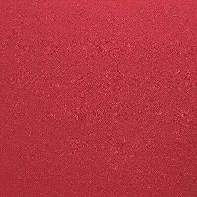 """Crafter's Companion Shimmering Cardstock 6""""X6"""" 20/Pkg Candy Red SC66-RED"""