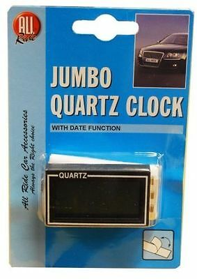All Ride Jumbo Self Adhesive Lcd Quartz Clock With Date Function