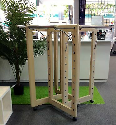LAST CHANCE!!! Four (4) way Professional Clothing Garment Rack Display for Store
