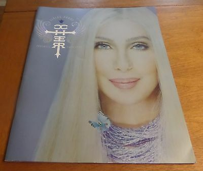 CHER Living Proof Farewell Tour Program PB ILLUS 2004