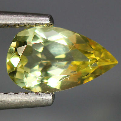 0.98 Cts_Wow Unbelivable Brazilian Gemstone_100 % Natural Heliodore Yellow Beryl