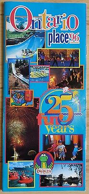 1996 Ontario Place (Toronto) Booklet -- 25th Anniversary