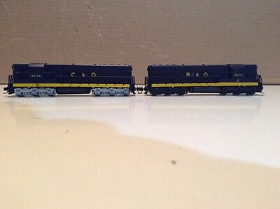 Kato Sd 7 N Scale C&to And B&o Custom Painted