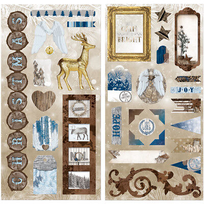 Sleigh Ride Chipboard Accents  18715148