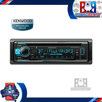 Kenwood Kdc-bt610u Cd Usb Dual Bluetooth Car Stereo Android Iphone Multi Color