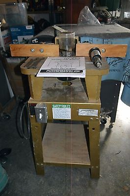 "Powermatic Shaper (Router) -  Model 23 - with 1/2"" and 3/4"" Spindles"