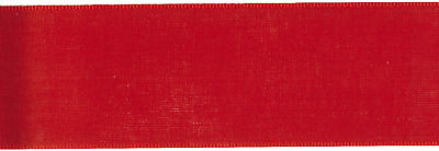 "San Marino Ribbon 1 1/2""X9' Red 4107 1.5-10"