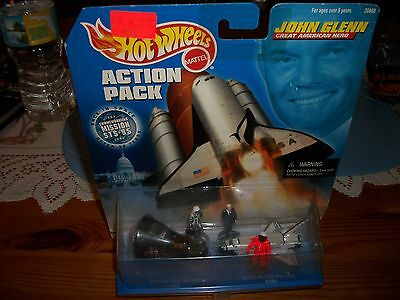 hot wheels john glen action pack 1998