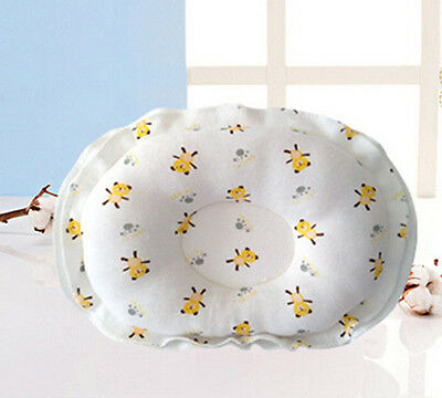 US Baby Infant Sleep Positioner Support Pillow Cushion Prevent Flat Head Bear