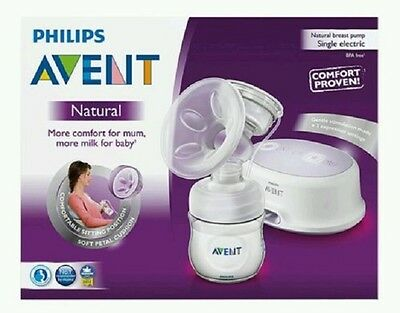 PHILIPS AVENT Natural Comfort Single Electric Breast Pump = GENUINE PRODUCT