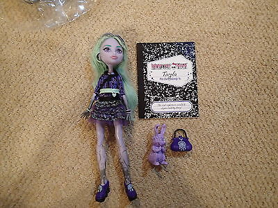 Monster High 13 WISHES TWYLA Lilac Jointed Ghost Girl Doll w/Outfit