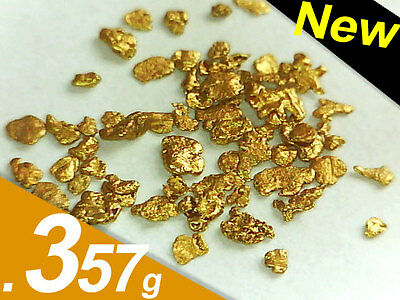 .357 Gram Fine Gold Nuggets from Bering Sea