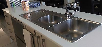 20mm Stone Bench Top with Sink and Mixer Tap