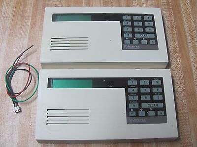 Lot of 2 Radionics / Bosch D222A and D223A Security Alarm Keypad