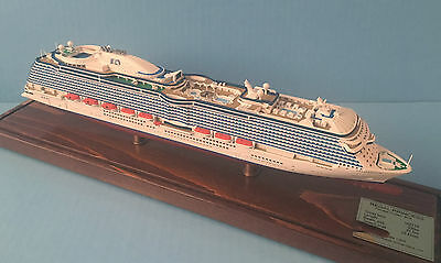 REGAL PRINCESS cruise ship MODEL ocean liner boat 1:900 scale by Scherbak