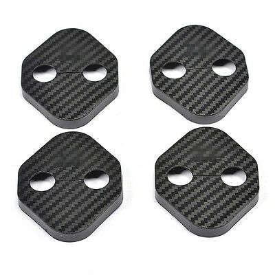 4 PCS Door Lock Protector Cover Buckle Decoration Fit for Honda 10th Civic 2016