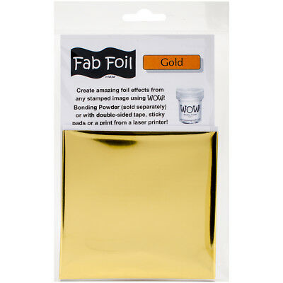 "WOW! Fab Foil 4""X28"" Bright Gold W216-GLD01"